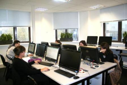 EC London Computer Area