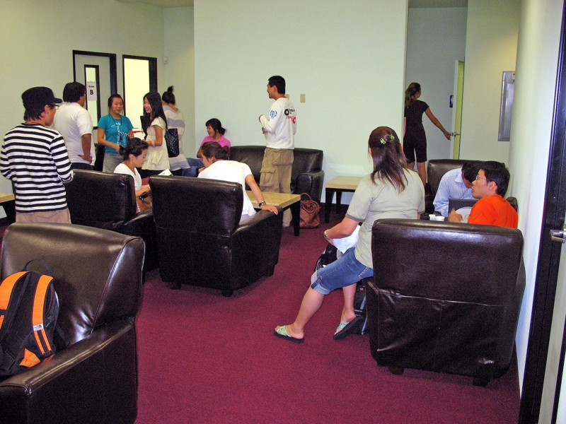FLS Las Vegas Institute student lounge