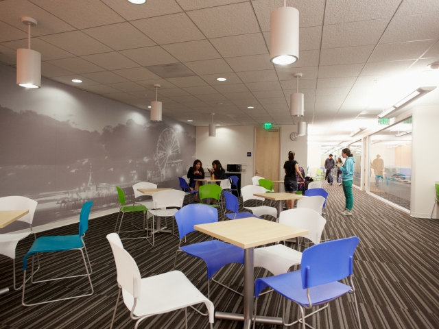 EC Los Angeles Student Lounge 1